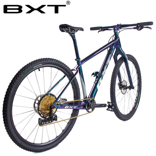 2019 New BXT 29er Carbon Mountain Bike 1*12Speed Complete bicycle 29inch MTB 142*12/148*12mm Boost Chameleon Frame Free Shipping