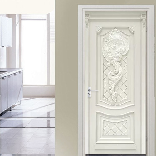 3D Wallpaper European Style Embossed Flowers Murals Living Room Kitchen Door Sticker PVC Self Adhesive Waterproof Wall Paper 3 D