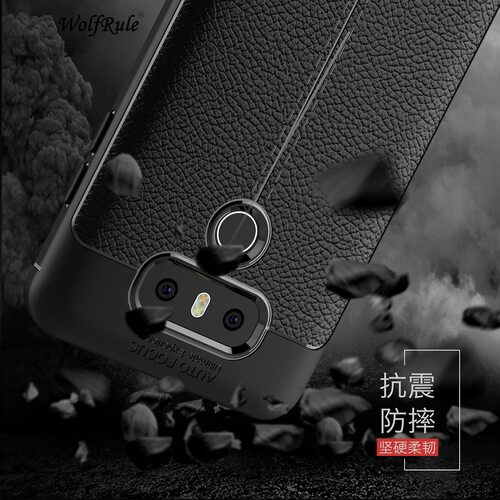 WolfRule sFor Phone Case LG G6 Cover Shockproof Luxury Leather Soft TPU Case For LG G6 Case For LG G 6 H870 H873 H870DS Funda