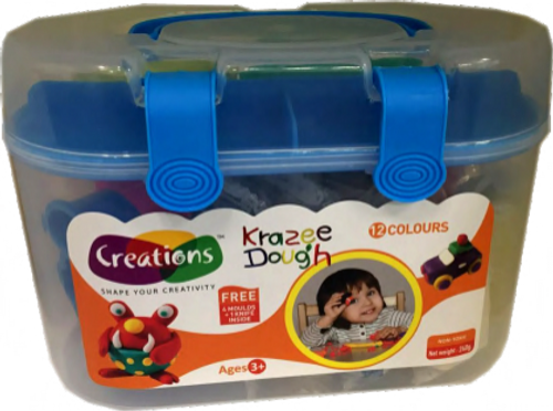 Krazee Dough toy art Dough set for kids by Creations