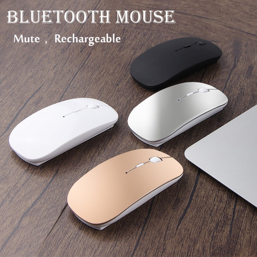 Silent Mice Rechargeable Bluetooth Mouse For CHUWI Hi10 Plus Pro Hi12 Hi13 Hi8 Hi9 Air Vi10 Vi8 Vi7 Surbook mini 10 Laptop