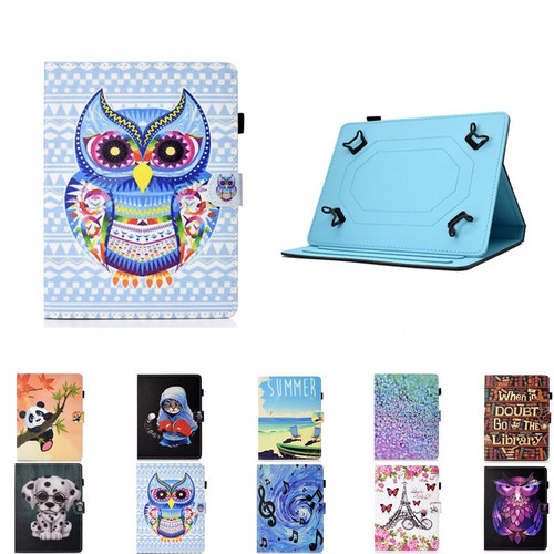 Print PU Leather 10 Inch Universal Case For Prestigio Grace 5771 5791 7781 4G for Chuwi Hi9 Hi10 Air Pro 10.1 inch Tablet Cover