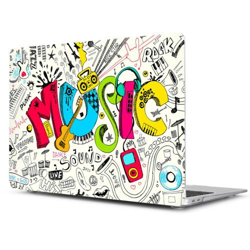 Batianda Hard Case for Macbook Air Pro Retina 11 12 13 15 13.3 inch Touch Bar A1706 A1708 A1989 A1932 A1990 Unique Laptop Cover
