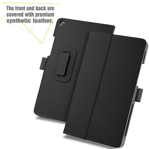 Case For Funda Huawei Media Pad Mediapad T3 8 KOB-L09 KOB-W09 8.0 Tablet Cases Stand Folding Folio Litchi PU Leather Smart Cover
