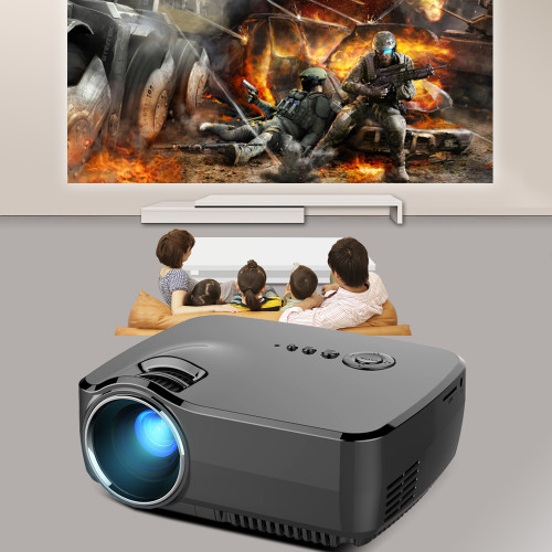 Projector BYINTEK GP70 2017 Best sale Portable Led Projector HD USB HDMI LCD cinema LED Mini Video Digital Home Theater Beamer