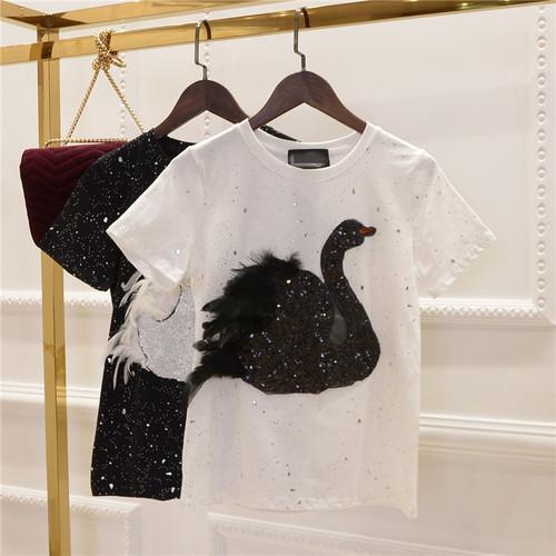 2019 Harajuku Fashion Black Female T Shirts Summer Japanese Gothic Vintage Casual Tops Street Wear Oversized Women Slim tshirt