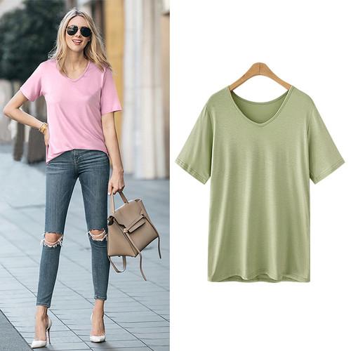Shirt Blusas Summer Top Tees Shirt Loose Femme Camisas Mujer Casual Female GZC1