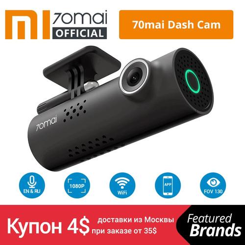 Xiaomi 70mai Car DVR English Voice Control Cam 1080HD Night Vision Dash Cam Wifi 70 mai Car Camera Auto Recorder G-sensor