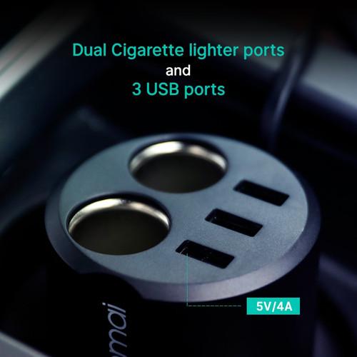 Xiaomi 70mai Car Cigarette Lighter Socket Splitter USB Car Auto Power Adapter Car Charger Car Plug splitter