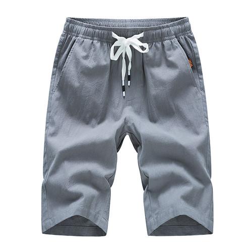 Cotton Slim Fit Casual Shorts Men Brand Boardshorts Drawstring Mens Short Hot Sale Male Summer thin Bottoms Beach Short