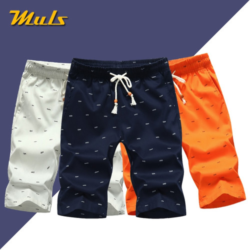 5Colors Men's Shorts Summer Casual Cargo Shorts Cotton Male Beach Short Pants Homme Bermuda Masculina Plus Size 5XL Boardshorts