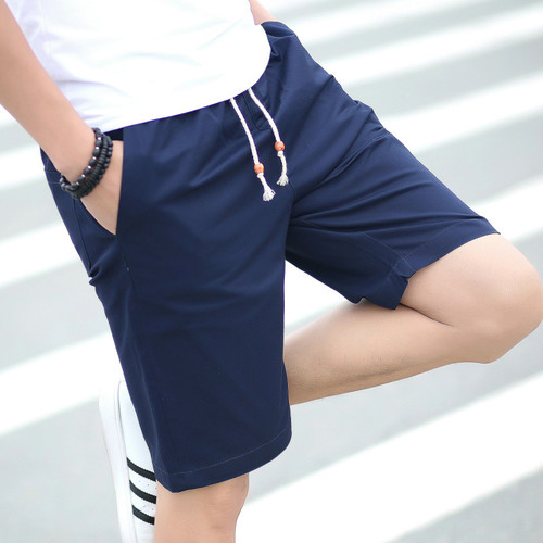 AIRGRACIAS Summer Cotton Shorts Men Fashion Brand Boardshorts Breathable Male Casual Shorts Comfortable Bermuda Beach Short