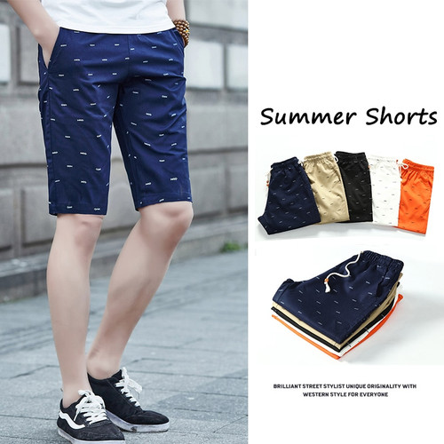 5XL Mens Shorts Summer Clothing Casual Cargo Shorts Cotton Male Beach Short Pants Mens Plus Size Quick Drying Boardshorts 2019