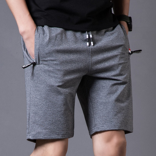 2019 New Summer Cotton Shorts Men Fashion Boardshorts Breathable Male Casual Shorts Mens Short Bermuda Beach Short Pants Hot