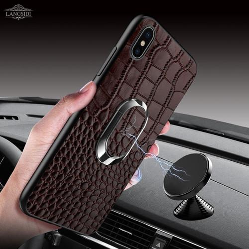 Genuine Leather For Xiaomi Mi 9 8 Phone Case For Xiomi Mi 9 8 SE Explore A2 Kickstand Cover For Redmi Note 7 Pro funda coque