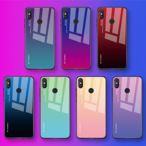 Tempered Glass Phone Case For Xiaomi Redmi Note 5 Plus 6 7 Pro Pocophone F1 Mi8 Mi 8 9 A2 A1 Lite 6X 5X Mix 2S Max 3 Fundas Capa
