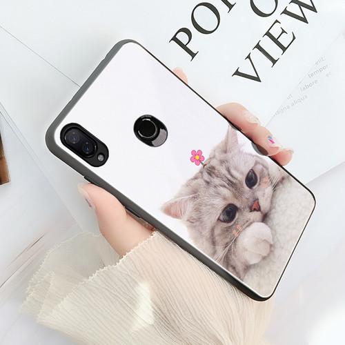 Redmi Note 7 Pro Case Mofi For Xiaomi Redmi Note 7 Case Pro Glass Hard Cover For Xiaomi Mi A2 6X Mi8 Lite Mi9 Case Cat Dog Cute