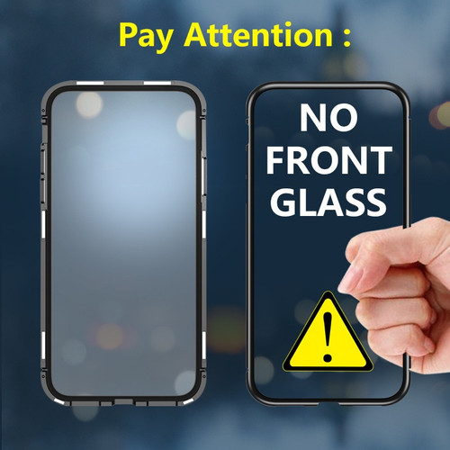 Magnetic Flip Adsorption Phone Case for Xiaomi Redmi Note 7 6 Pro Tempered Glass Back Cover Xiomi Xaomi Mi 9 8 Lite Pocophone F1