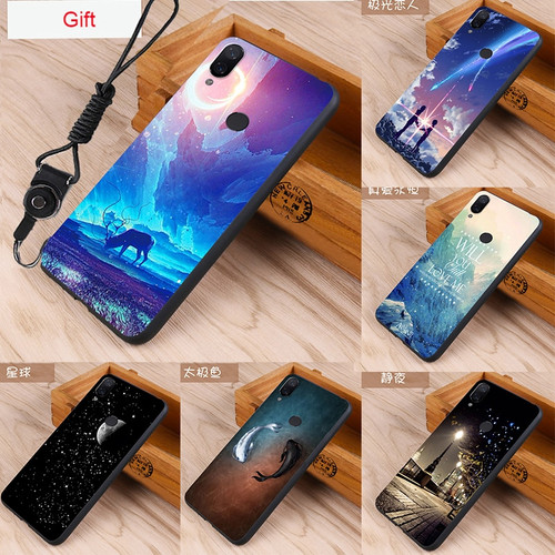 Fashion Case Xiaomi Redmi Note 7 5 Pro Case For Xiaomi Redmi 6 6a Mi 8 Lite Redmi Note 7 phone Cases Cover Skin Silicon Fundas