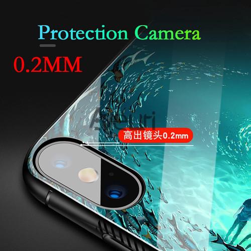 Luminous Glass Case For Xiaomi Mi 9 8 SE 8 Lite A1 A2 Lite Cover Phone Case For Xiaomi Redmi 5 Plus 6A 6 Pro Note 7 5 Pro Coque