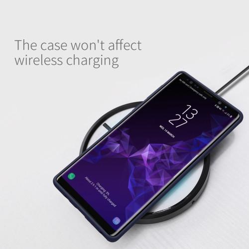 NILLKIN Flex Pure CASE For Samsung Galaxy Note 9 Slim Soft Liquid Silicone Rubber Shockproof Phone Case for Samsung Note 9 Cover