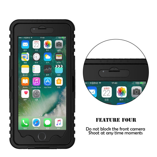 KISSCASE Waterproof Heavy Swimming Dive Case For iPhone 6 6S 7 8 Plus X XS Max XR 10 5S SE 4 4S Water Dirt Shockproof Phone Bag