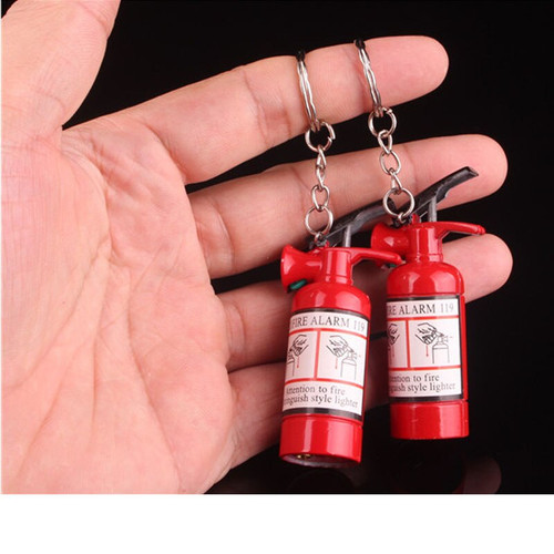 New Design Cigarette Accessories Butane gas Lighters Fire Extinguisher Lights