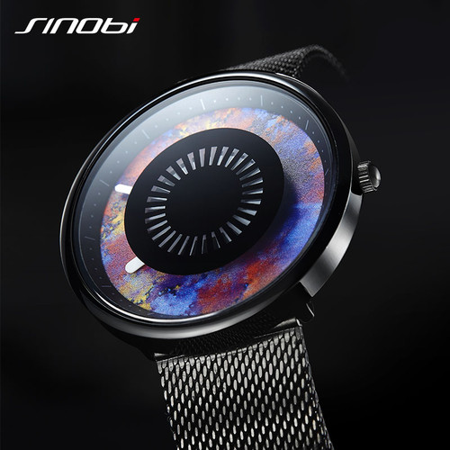 New Creative Brand Design Men Watch SINOBI 3D Print camouflage Cool Waterproof Sports Watch Imported Quartz Men Watches Relogio