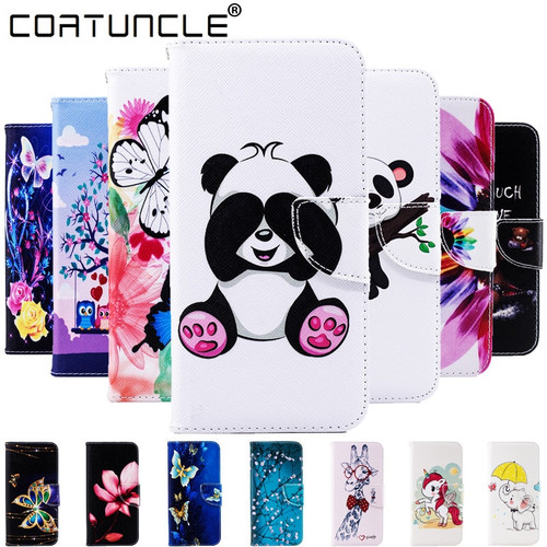 Flip Leather Wallet Case on sFor Coque Samsung Galaxy A6 A8 Plus 2018 J5 J3 2017 J4 J6 Plus J4 J6 2018 A7 2018 Phone Case Covers