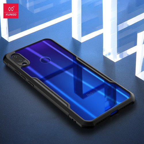 XUNDD Shockproof Phone case for Redmi Note 7 protective Redmi Note 7 pro With Airbags cover Ring holder Bumper Beetle