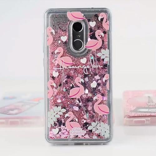 Glitter Silicone Phone Case For Xiaomi Redmi 7 4X 5 Plus 6A 6 Pro Liquid Quicksand Cover on Redmi Note 5 6 7 Pro 4X Cases Coque
