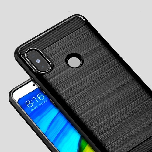 Silicone Case For Xiaomi Mi A2 Case Cover for Mi A2 Lite Case Soft Carbon Fiber Phone Case On Xiaomi Mi A 2 lite Redmi 6 Pro