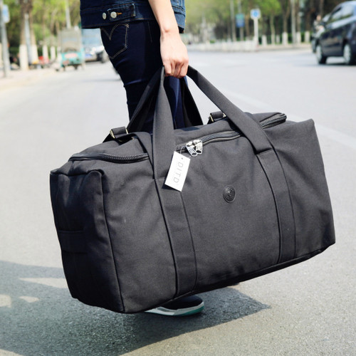 New Arrivals Canvas Leather Men Travel Bags Carry on Luggage Bags Men Duffel Bag Travel Tote Large Weekend Big Bag Overnight