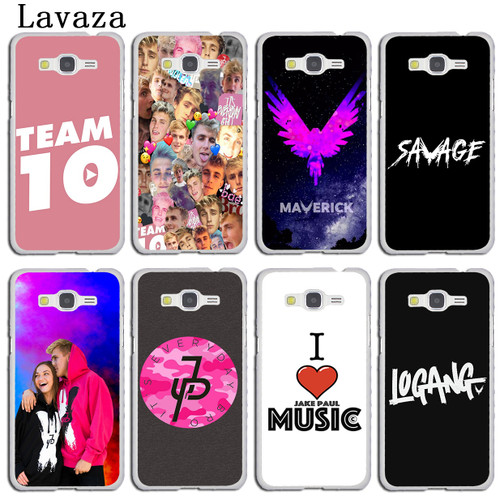 Lavaza logan Jake Paul Team 10 Phone Case for Samsung Galaxy A5 A3 2017 2016 2015 A9 A6 A7 A8 Plus 2018 Note 9 8 A6Plus Cover