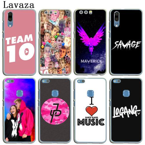 Lavaza logan Jake Paul Team 10 Hard Case for Huawei P30 P20 P10 P9 Plus P8 Mate 20 Pro Lite Mini 2016 2017 P smart 2019 Case