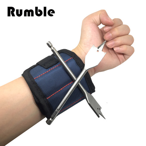 Nylon 13.8'' Wrist Strong Magnetic Nail Screw Drill Bit Holder Wristband Holding Hand Tool Bag Bracelet Belt Car Auto Repair Kit