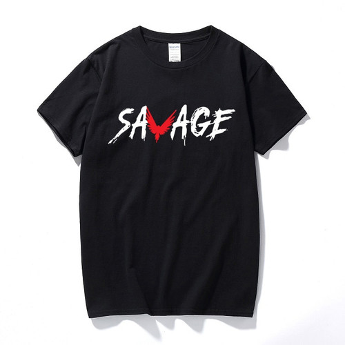 SKU10 Unisex SAVAGE Tee Jake Inspired Paul Team 10 Logan Youtuber T-Shirt New fashion Cotton short sleeve t shirt
