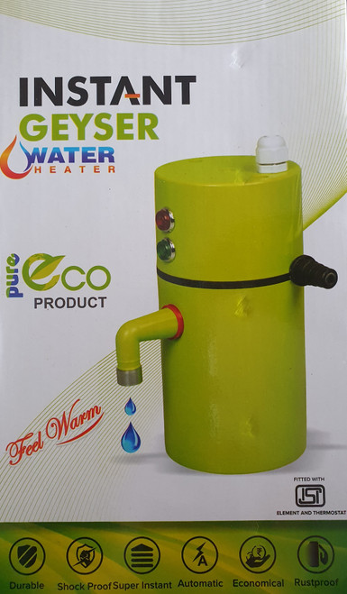 ELECTRIC INSTANT WATER GEYSER TANK LESS (Instant Geyser)