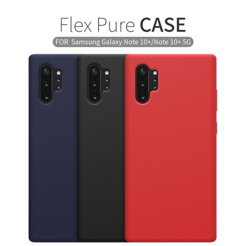 for Samsung Note 10 S10 Plus S10E Case Cover  Nillkin Pure Soft Liquid Silicone Rubber Cover Case for Samsung Note 10+ Note10
