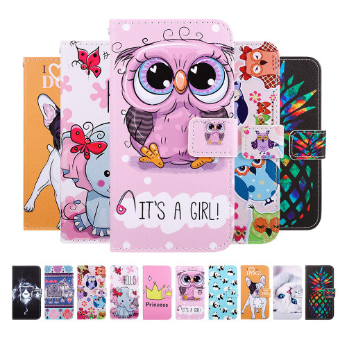 Flip phone case cover leather wallet ForXiaomi Redmi 6A 6 Pro 4X 5A Note4 Note6 Pro 5 Plus phone case