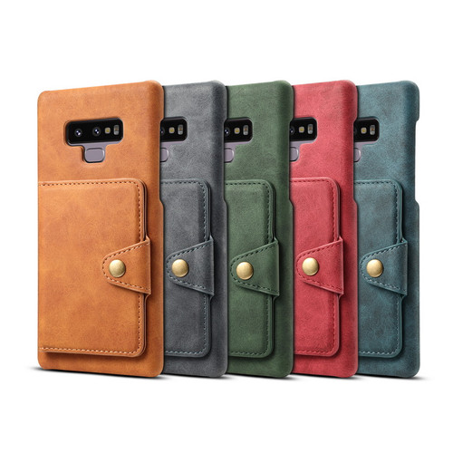 Retro PU Leather Case For Huawei P20 Pro Lite Card Slot Holder Cover For iphone Samsung Note9 S10 S9 Plus Back Stand Case