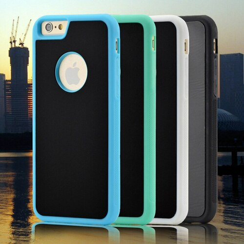 100pcs Anti-Gravity Selfie Nano Sticky Wall Hybrid Case for iPhone XS Max XR X 8 7 6 6S Plus SE 5 5S Samsung S10 7 6 Edge Note 9