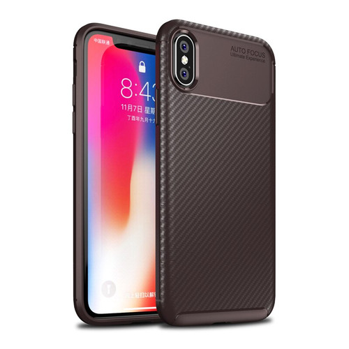 Twill Carbon Fiber Soft TPU Case For iPhone X XR XS Max 8 7 6 Samsung S9 S10 Lite A6 A8 A7 A9 J3 J7 2018 J4 J6 Plus A6S J2 Core