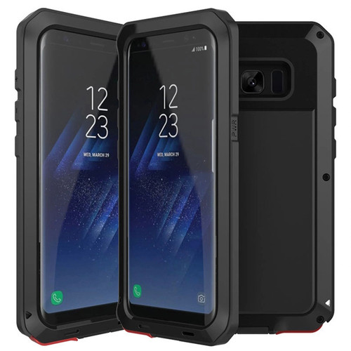 10pcs Heavy Duty Shockproof Matal Cover For Samsung Galaxy S10 E S9 S8 Plus Note 9 8 Armor Aluminum Silicone+PC Protection Case