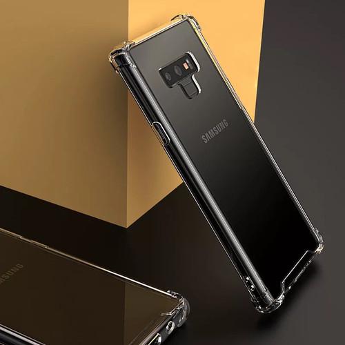10pcs Hard Acrylic Back TPU Cover For Samsung S10 E 5G S9 S8 Plus Note 9 8 A70 A60 A50 A40 A30 A20 M30 M20 M10 Air Cushion Case