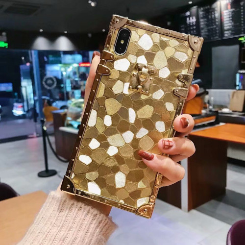 Selfan women fashion Leopard case For iPhone 6 s 7 8 Plus XS XR XSMAX Samsung S8 S9 S10 plus Note 9 Hard Coque case trunk Fundas
