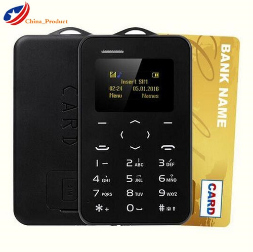 Gift AEKU C6 Student Children Pregnant Version Credit Card Mobile Phone with Russian Keyboard Bluetooth PK M5 Card Phone celular