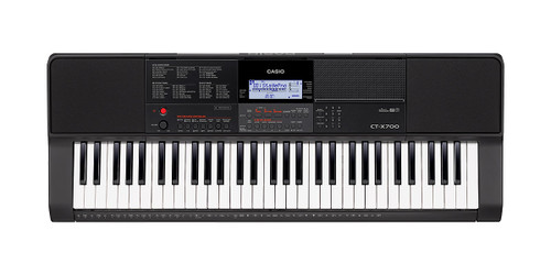 Casio CT-X700 Electronic Keyboard, 61 Keys Full Keyboard with Adapter