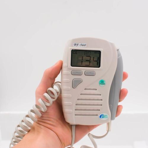 8Mhz probe configuration pocket vascular doppler white backlight lcd display detect blood flow rate ultrasound doppler vascular
