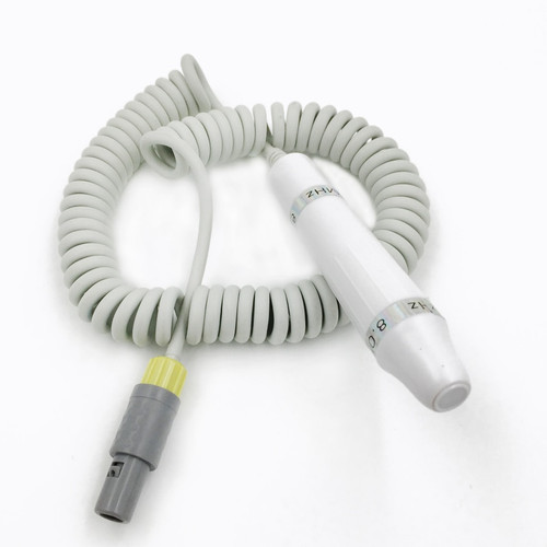 White color pencil probe 8Mhz as spare part of BESTMAN model BV-520T+ to detect blood flow velocity doppler vascular